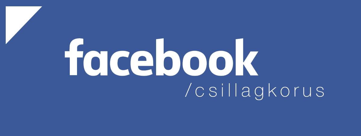 Kövess be minket Facebookon!