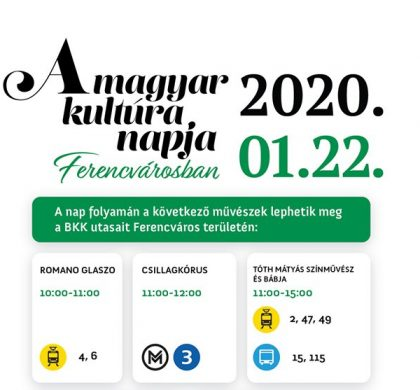 Magyar Kultúra Napja Ferencvárosban